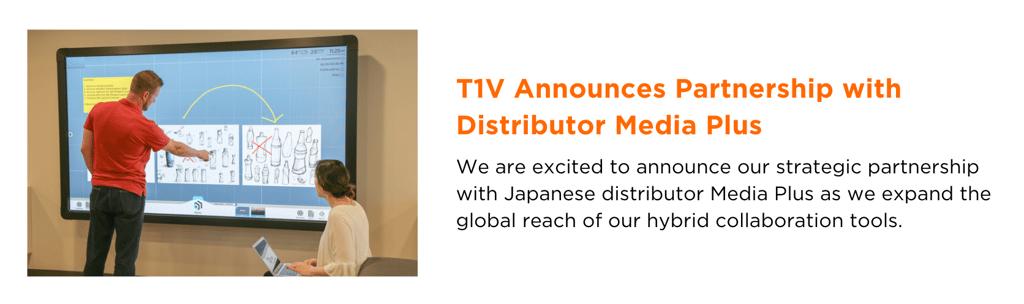 T1V-announces-partnership-with-distributor-media-plus-newsletter-blog-image