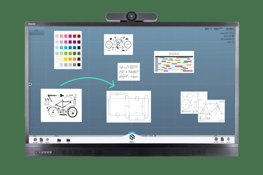 T1V-ThinkHub-Avocor-Collaboration-Display
