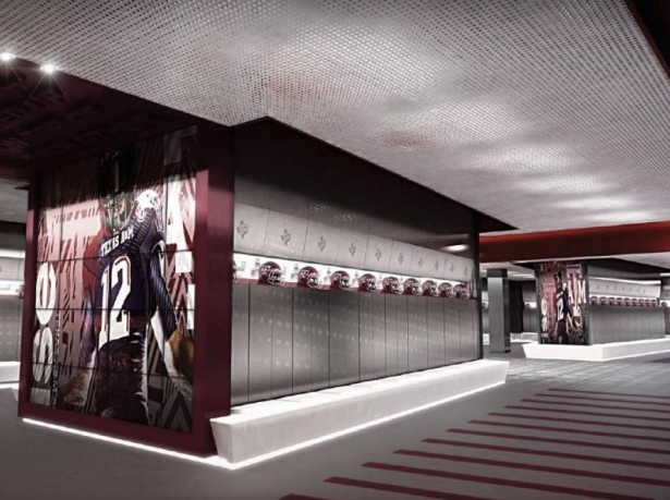 T1V 4X4 Video Wall at Texas A&M