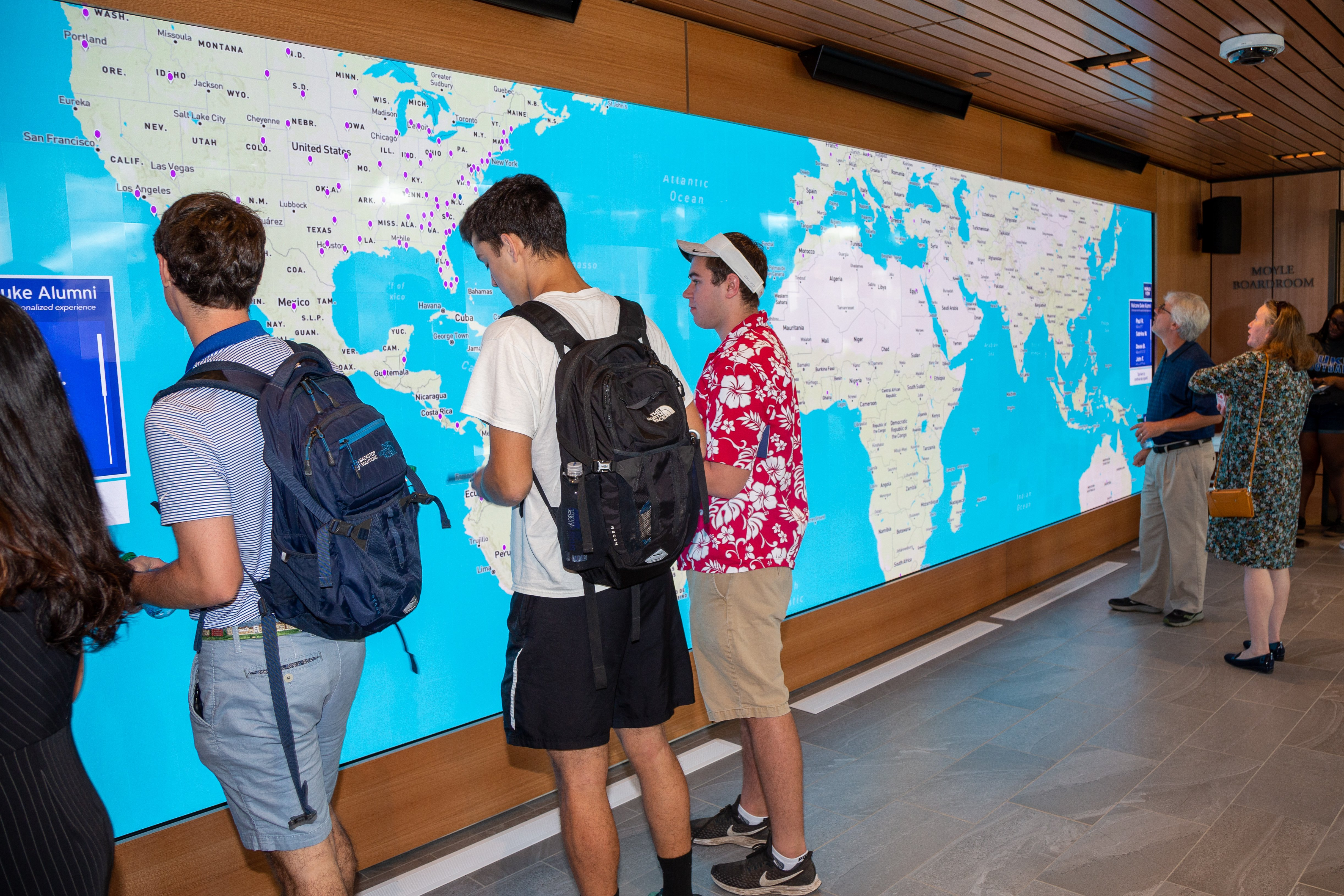 Interactive Video Walls for Education