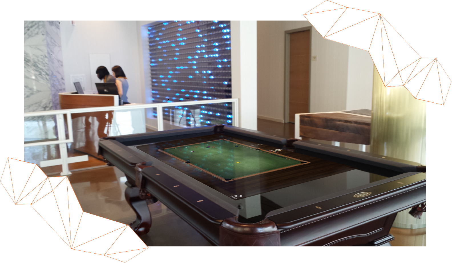 T1V Interactive Pool Table 4